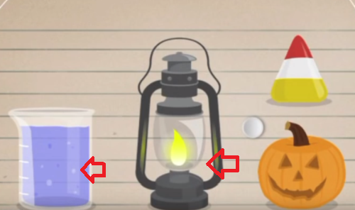 moron-test-tricky-treat-walkthrough-touch-the-beaker