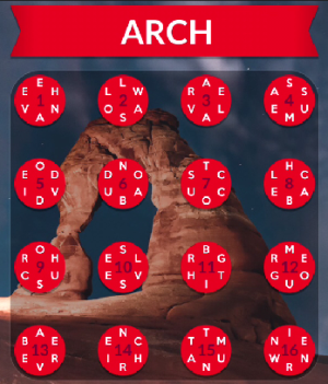 Wordscapes Canyon Answers Levels Ravine Pass Arch Cliff Pillar