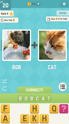 pictoword-animals-level-20-answers